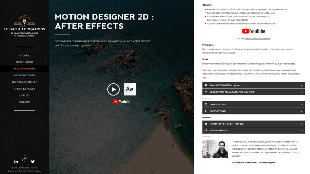 fiche formation motion design 2d bar formation nantes