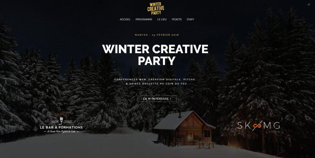 Winter Creative Party Nantes