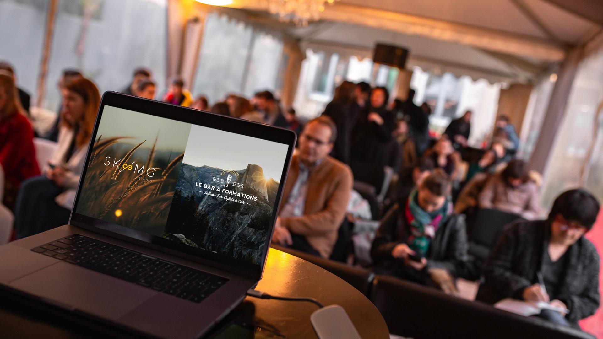 Winter Creative Party - Nantes. SKMG Studio & Le Bar à Formations